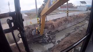 CAT314F And Engcon