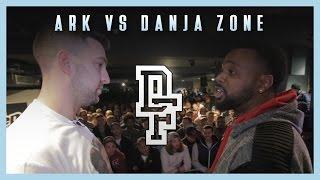ARK VS DANJA ZONE | Don't Flop Rap Battle