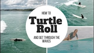#5 Surfing Beginner – Turtle roll