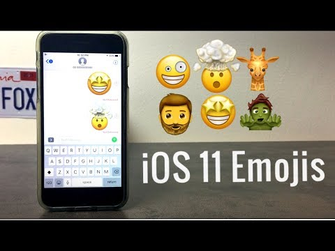 How to Get New iOS 11 Emojis