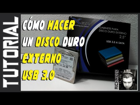 Cómo Hacer Un Disco Duro Externo USB 3.0 | XCASE