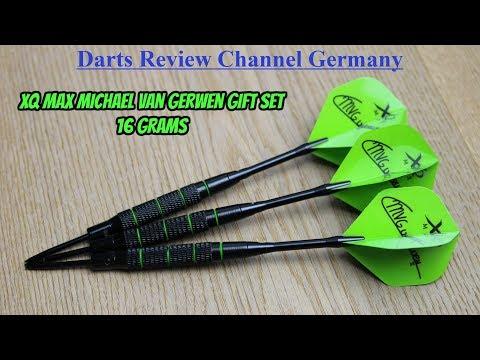 Darts Review Michael van Gerwen present set (16g)