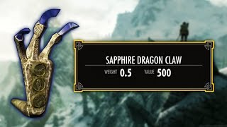 Skyrim - Sapphire Claw Guide