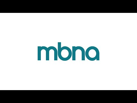 MBNA Card Services App Youtube video