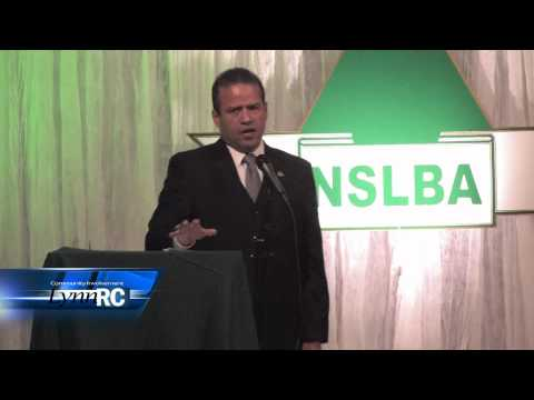 Ruben Guerra, President of the Los Angeles Latino Business Assoc at the NSLBA 1st Annual Dinner