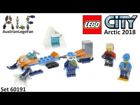 Vidéo LEGO City 60191 : Les explorateurs de l'Arctique