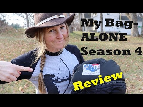 Wiggy's sleeping bag REVIEW- the bag I took on ALONE