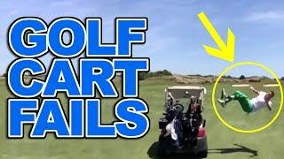Golf Cart Fails and Golf Cart Crashes