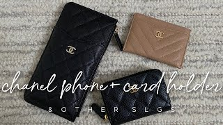 CHANEL PHONE & CARD HOLDER AND MY OTHER SLGS | ALYSSA LENORE
