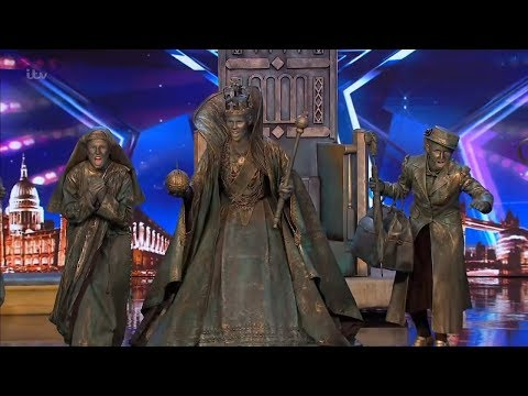 Download Britain's Got Talent 2019 Big Name Statues Surprises Full Audition S13E06 HD Mp4 3GP Video and MP3