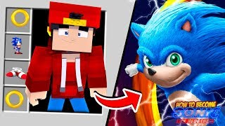 Minecraft Adventure   HOW TO BECOME SONIC THE HEDGEHOG!!