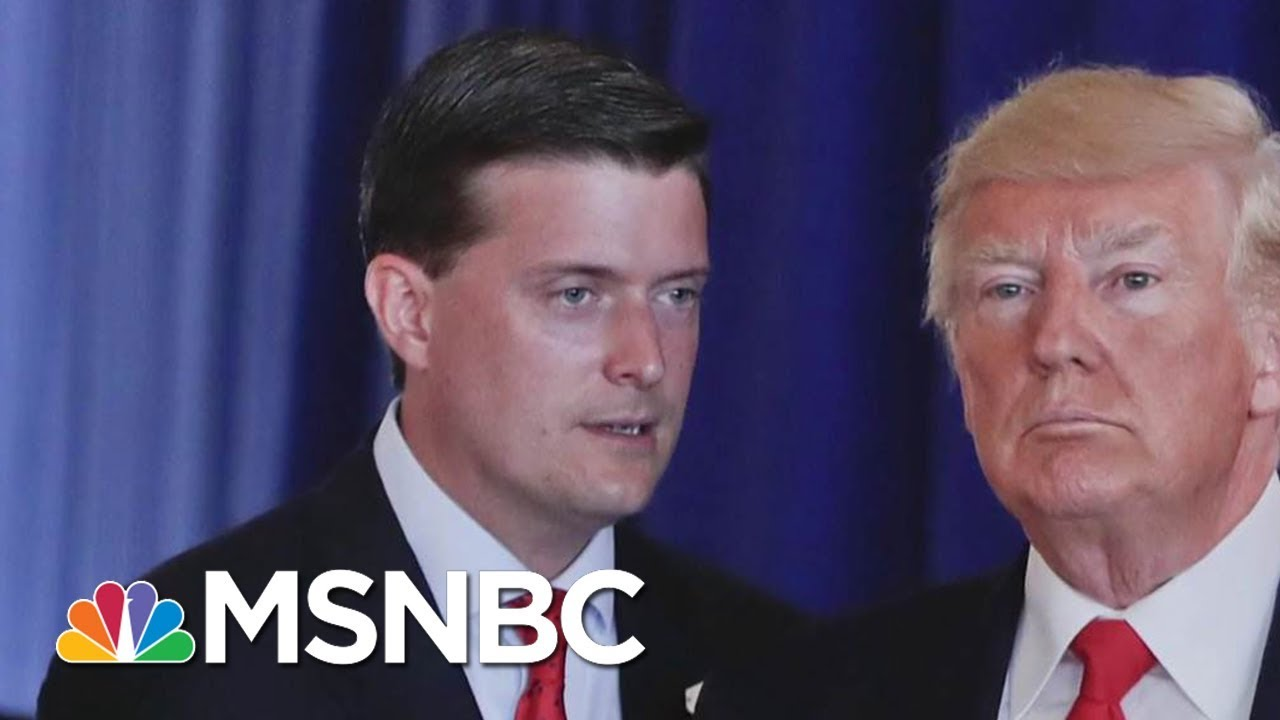 Fmr. WH Staff Secretary: It's 'Inexplicable' Rob Porter Was In This Role   Velshi & Ruhle   MSNBC thumbnail
