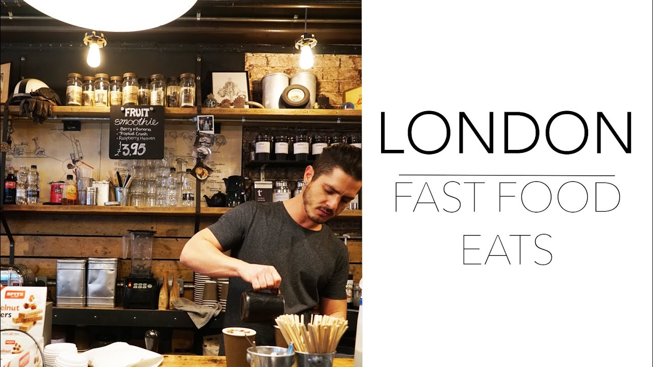 Gourmet Fast Food Favourites in London