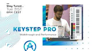 Live Workshop | KeyStep Pro: Walkthrough and Performance