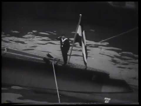 Indienststelling van onderzeeboot K XVI