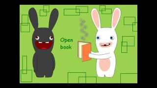 ♫ Rayman raving rabbids tv party ♪ Open book ♫