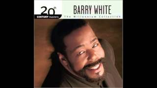 Barry White practice what you preach
