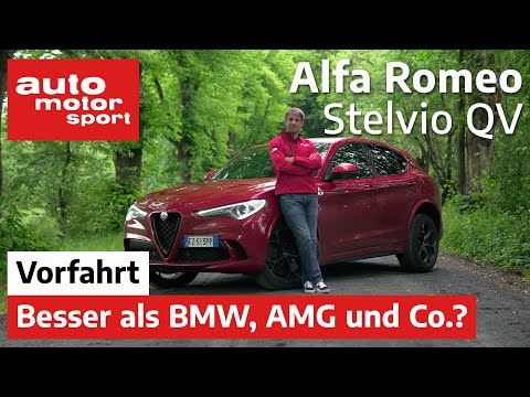 Alfa Romeo Stelvio Quadrifoglio: Besser als BMW und AMG? - Vorfahrt/Review | auto motor und sport