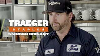 How To Cook Smoked Brisket | Traeger Staples