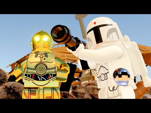 Lego Star Wars The Force Awakens Walkthrough Jakku Hub All