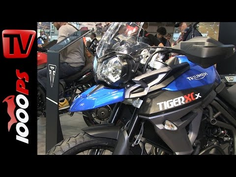 Triumph Tiger 800 XC / 800 XR- 2015 | Features, Details