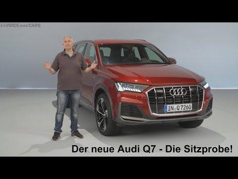 2019 Audi Q7 Sitzprobe - die ersten Fakten und Informationen Voice over Cars Inside