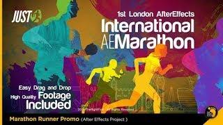 Marathon Runner Promo | After Effects Template