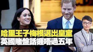 哈里王子梅根退出皇室 英國賭盤話捱唔過五年 (D100 上綱上線) bji 2.1