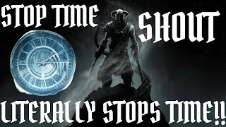 Stop Time Shout Mod