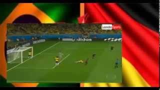 ドイツW杯17872014VS目標サミ·ケディラブラジル