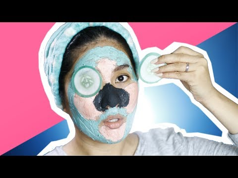 Mask para sa buhok density video yeast