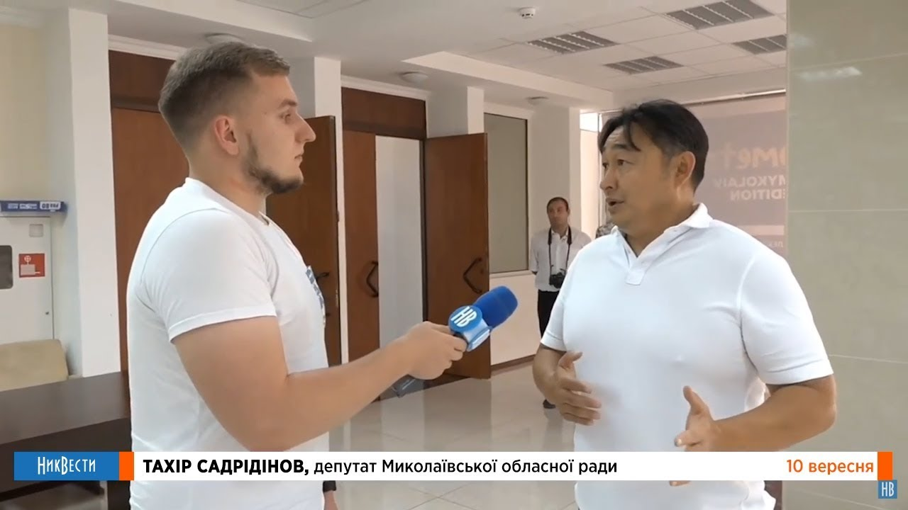 Депутат от партии «Наш край» Тахир Садридинов