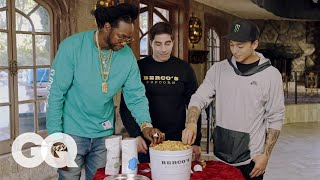 2 Chainz Eats $500 Gold Coated Popcorn | Most Expensivest Sh*t | GQ