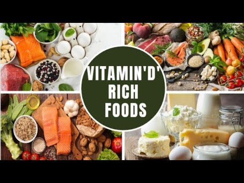 7 Top Healthy Foods To Boost Your Vitamin D levels.