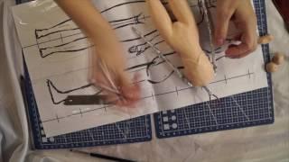 Шарнирная кукла своими руками с нуля часть 4 как лепить грудь
