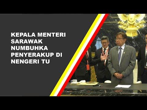 Kepala Menteri Sarawak Numbuhka Penyerakup Di Nengeri Tu