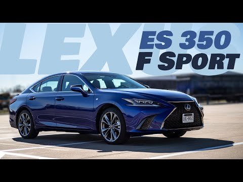 2019 Lexus ES350 F Sport - a front-wheel-drive sport sedan from Lexus?
