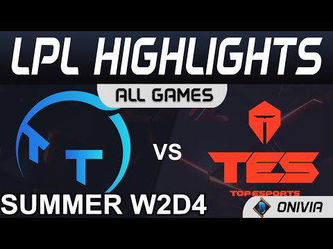 【LPL】TT vs TES Knight維爾戈瘋狂單殺 TT沒開語音配合爛到流湯 Highlights