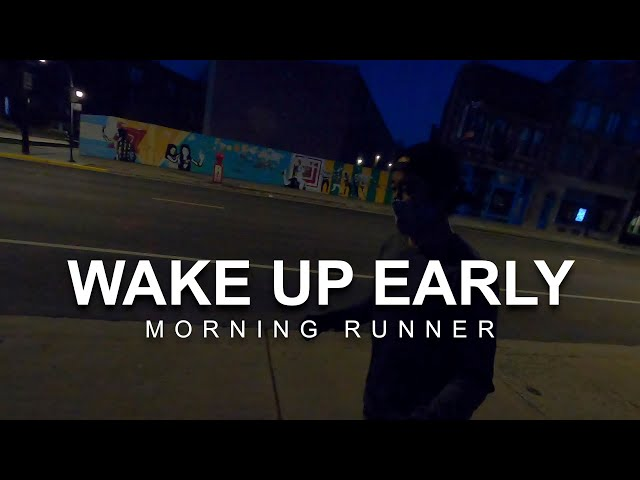 How to Wake Up Early to Become a Morning Runner