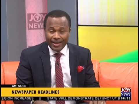30 Children Abandon School - AM Show Headlines on JoyNews (22-10-18)