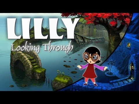 lilly looking through pc review