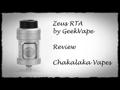 YouTube Video zu GeekVape Zeus Verdampfer 4 ml