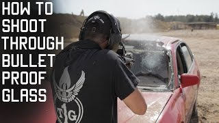 How To Shoot Through Bullet Proof Glass | Marine Force Recon Technique | Tactical Rifleman