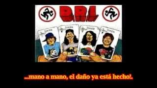 D.R.I. Do The Dream (subtitulado español)