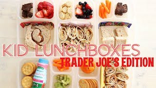 Lunch Ideas for KIDS + What They Ate | Trader Joe's Edition