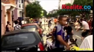 VIDEO  Mobil Ini Hantam Belasan Pesepeda Saat Konvoi