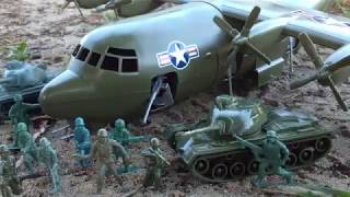 Army Men: The AC-130 Attack (Thanks ARMY OF TOYS) | The General