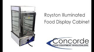 Royston Illuminated Food Display Steamer