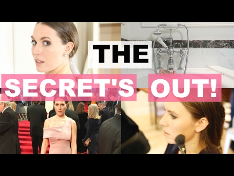 BEHIND THE SCENES AT THE BAFTAS! Talk Becky Talk ad