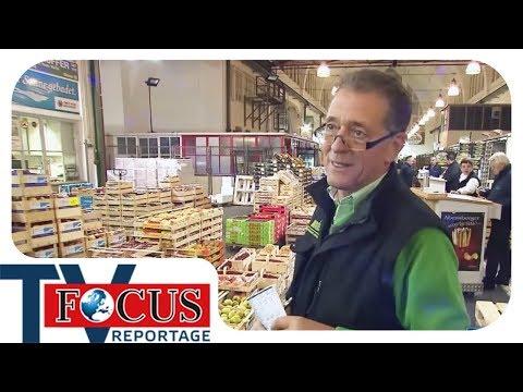 Feilschen um jeden Preis - Arbeiten auf dem Münchner Großmarkt | Focus TV Reportage